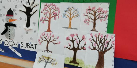 Doğadan Gelen Renkler Projemizi Tanıttık Renkli Çalışmalara İmza Attık