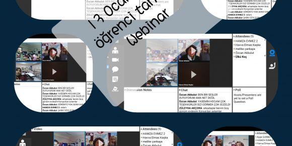1İyilik Yap İyilik Bul Projesi Öğrenci Tanışma Webinarı