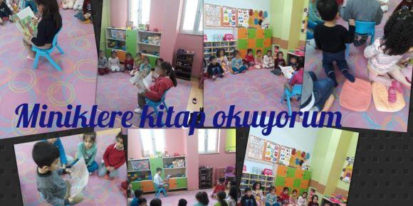 Anasınıfı Öğrencilerine  2-A Sınıfı Hikaye Okudu