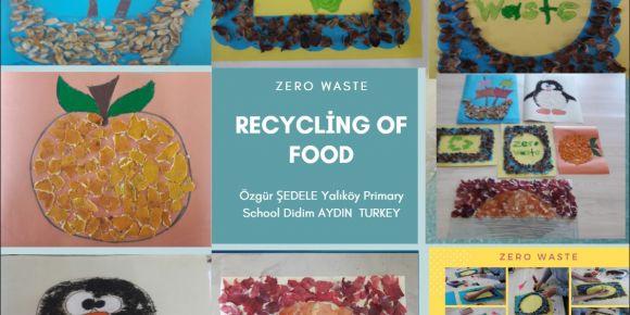 Organik  atıkları dönüştürüyoruz