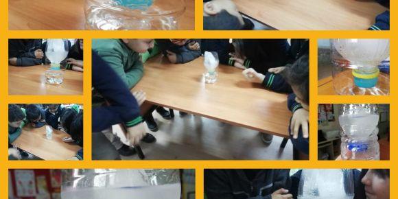 Su döngüsü deneyi yaptık