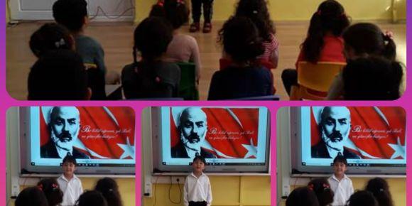 İstiklal Marşı'mızın 99.Yıldönümü ve  ''Mehmet Akif Ersoy ''