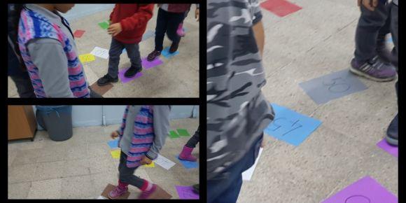 Dersimiz Drama Etwinning projesinde 1.Sınıf Kasım Ayı Matematik Dersini eğlenerek işledik