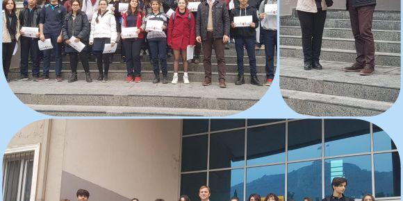 Öğrencilere de Ulusal ve Avrupa Kalite Etiketi Ödülleri verildi