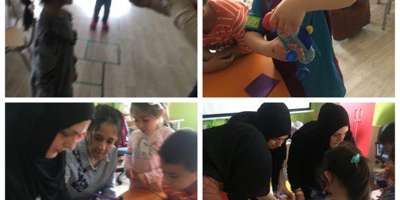 Let's Teach and Learn Stem Projesinde Workshop Etkinliği