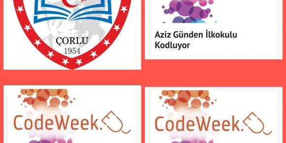 Okulumuz Codeweek etkinlikleri