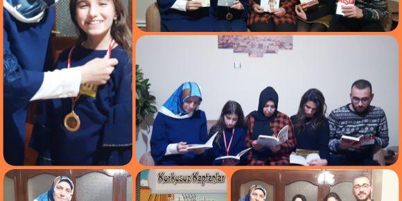 Aileler kitap okuyor projemiz 3. haftasında