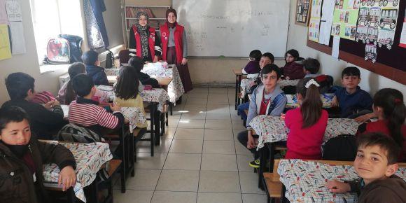 Aziziye Genlik Merkezi okulumuzu ziyaret etti