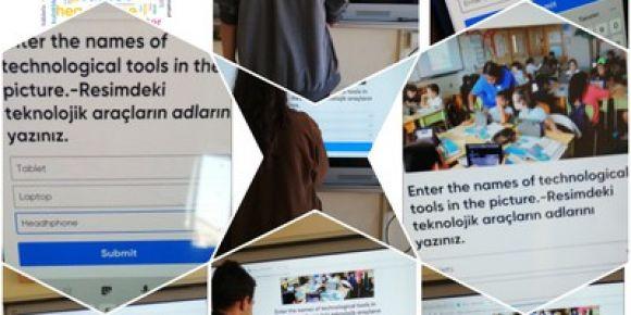 Şehit Durmuş Öcal Anadolu Lisesi e-twinning projesi etkinliklerine devam ediyor