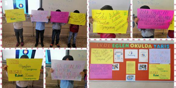 Mart Ayı Slogan Etkinliğimiz