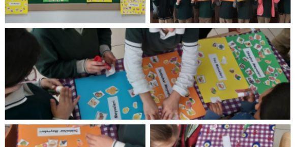 Öğrenciler 'Mevsiminde Meyveler' Poster hazırladı