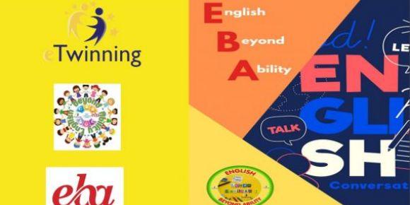 English Beyond Ability (EBA) eTwinning projemizin öğretmen kitabı hazır