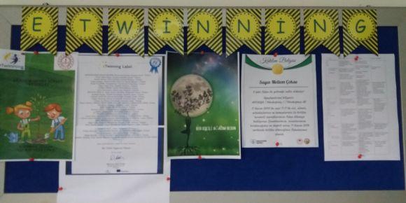 """""""Bir Dikili Ağacım Olsun"""" e- twinning projesi"""