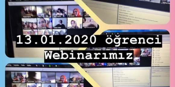 Değerler Eğitimi Anadolu Öğrenci Webinar