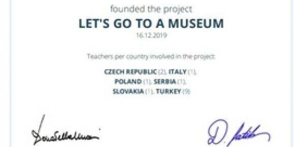 'Let's Go To A Museum' Etwinning Projesi