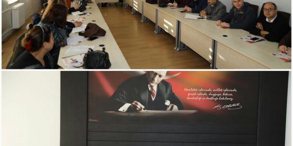 Gaziantep İl Milli Eğitim'in Düzenlediği Eğitime Katıldık