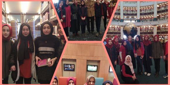 Ankara Kitap Fuarı ve Cumhurbaşkanlığı Millet Kütüphanesi Gezisi