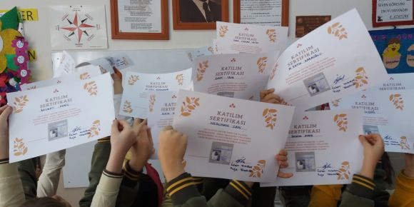 Adab-ı Muaşeret eTwinning projesini tamamladık