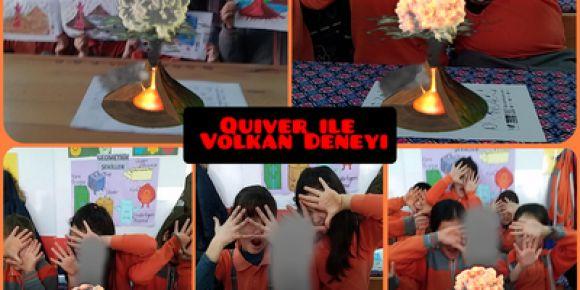 4/I WebSöz Quiver ile volkan deneyi