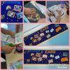 Satı Öztürk İlkokulu öğrencileri proje panolarını oluşturuyor