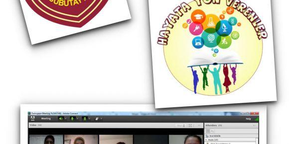 eTwinning Hayata Yön Verenler 2 Projesi Kapsamında Çevrimiçi Öğretmen Görüşmesi Yapıldıldı