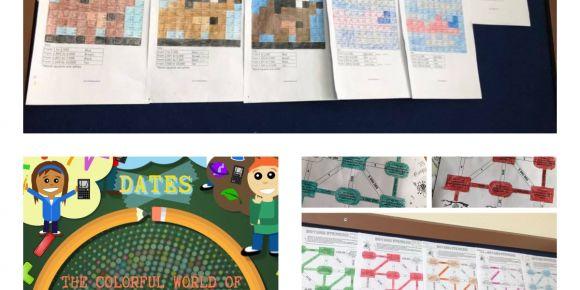 Matematiğin Renkli Dünyası adlı e Twinning Projesi Okulumuzda