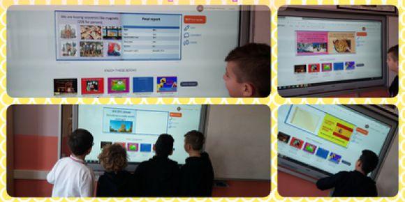 """Öğrenciler """"English Class 2020"""" eTwinning projesinde sanal gezilerini gerçekleştirdiler"""