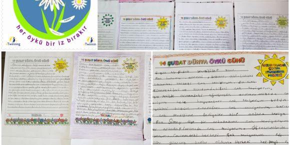 Yazar olacak çocuklar öykü gününü sevgiye öyküler yazarak kutladılar