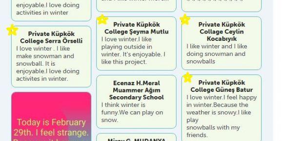 Küpkök'lü Genç Etwinnerlar Fikir Paylaşımında
