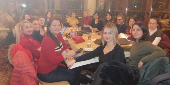 eTwinning projemiz Melodic Words  'ün ortaklarıyla toplantı