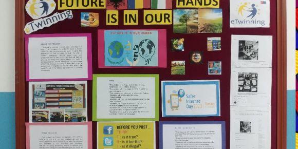 ' Future is in Our Hands' eTwinning projemizde 1. Modül etkinliklerimizi tamamladık