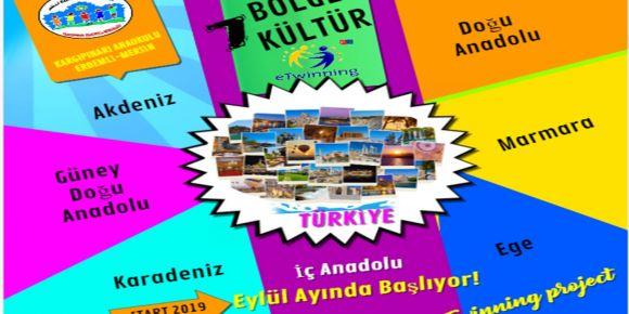 7 Bölge 7 Kültür eTwinning Projesi