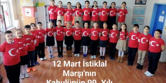 12 Mart İstiklal Marşı'mızın Kabulünün 99. Yılı