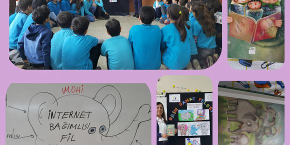 Bilim Sanat Felsefe/P4C '''İnternet Bağımlısı Fil Yavrusu''