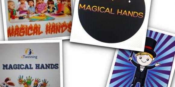 MAGICAL HANDS eTwinning projesi ile logo ve poster yapmayı öğreniyoruz