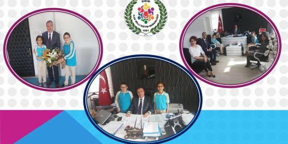 Yenihisar Dergisi 2 İçin Sayın Kaymakamımız Mehmet Türköz'le Röportaj Gerçekleştirildi
