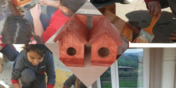Gazi Abdurrahman Paşa İlkokulu Kuş Yuvaları Etkinliği