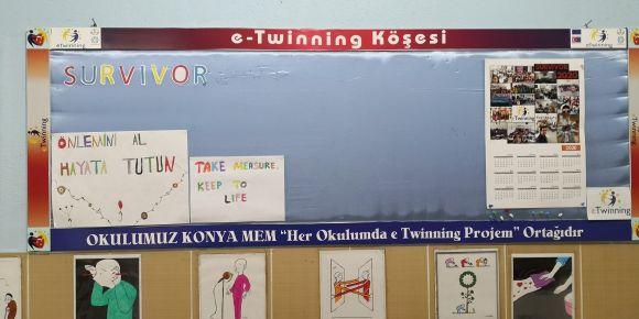 Survivor isimli eTwinning projemizin slogan seçimlerini yaptık