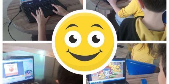 Küpkök Ortaokulu'nda Online Spor Kapışmaları