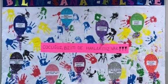 Bilim Sanat Felsefe Çocuk Hakları Günü Etkinliği