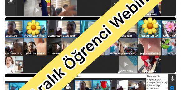 Ağız ve Diş Sağlığı Haftası Kapsamında Öğrenci Webinarı Gerçekleştirdik