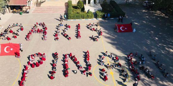 Öğrencilerimizden Barış Pınarı Harekatına Destek