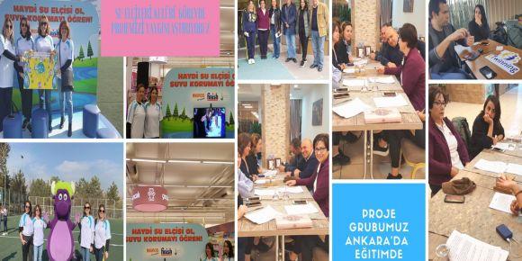 Su Elçileri Kulübü Görevde eTwinning Proje Ekibi Ankara'da