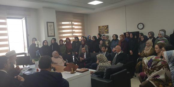 Şehit Kaymakam Muhammet Fatih Safitürk'ün ailesini okulumuzda ağırladık