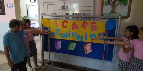 I care eTwinning Projesinde Kurucuyuz