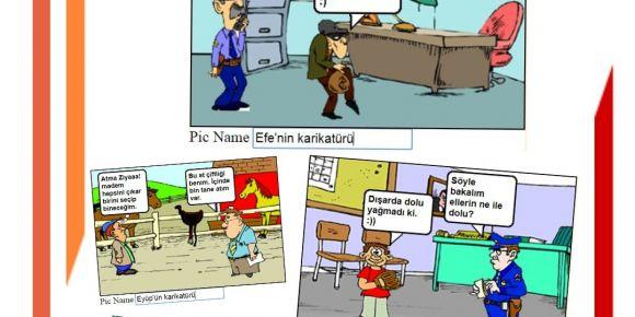 Websöz Projesinde Karikatürler yaptık