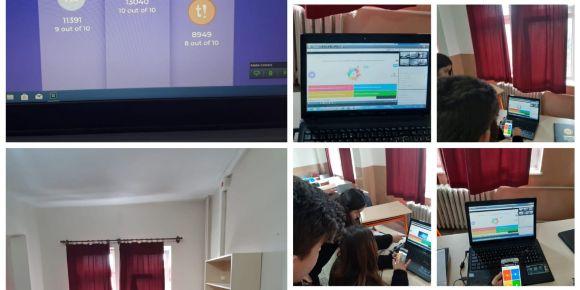 My Technoclass E Twinning Projesi  Öğrenci Webinarı ve KAHOOT etkinliği)
