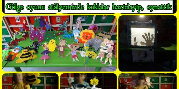Mutlu Çocuklar,Güçlü Türkiye  için Okulum Atölyem Oldu etwinning projesi