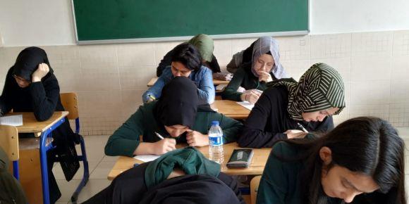 Ayşe Kemal İnanç Kız Anadolu İ.H.L Öğrencileri Sudoku ve Kendoku Turnuvasına Katıldılar