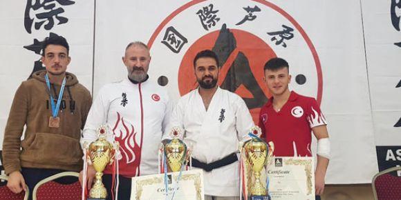 Avrupa Şampiyonasında Zonguldak'ın Gururu Oldular
